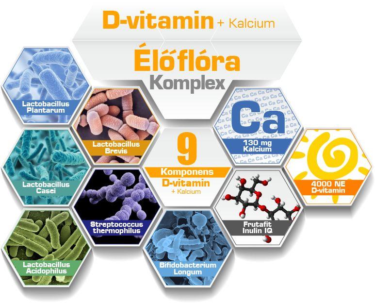D-vitamin komponensek